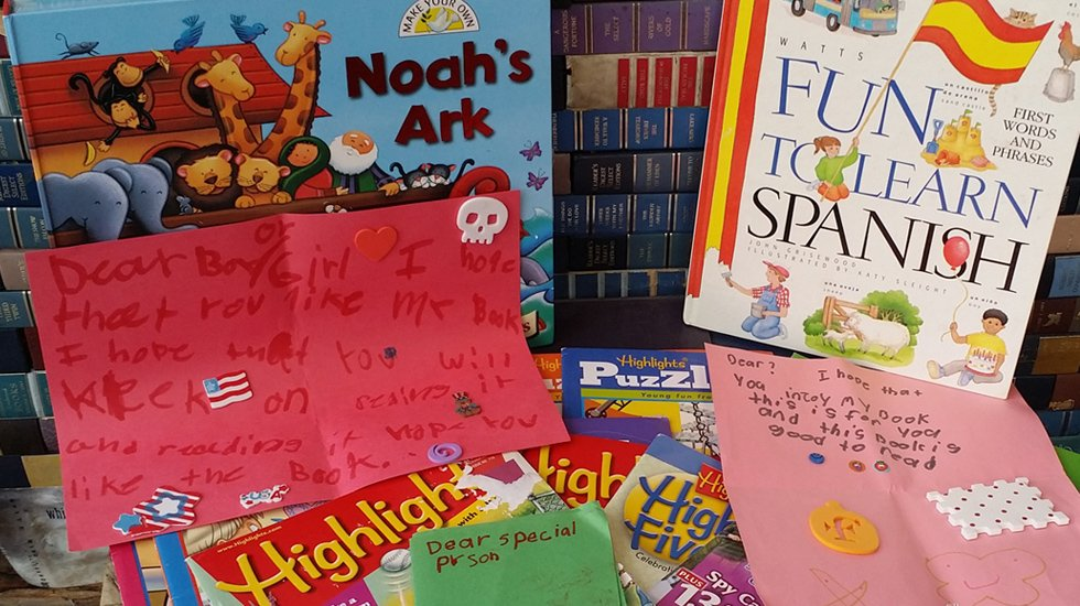 Young readers shared these books. And these awesome notes.