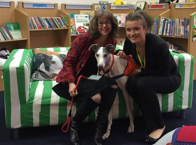 Danny the Reading Dog Wins Hearts