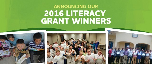 2016 Better World Books Literacy Grant Library Winners