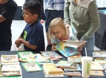Better World Books Blasts Off Donations At Mall Event